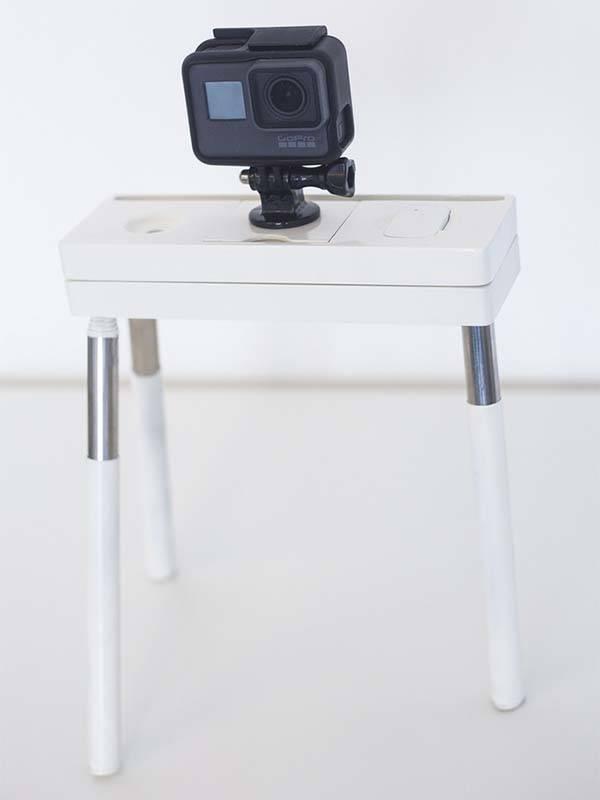 Vixari Portable Tripod with Bluetooth Remote Shutter