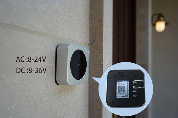 Vuebell WiFi Video Doorbell Works with Echo Show