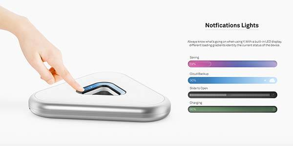Y Concept Expandable Personal Cloud Storage Device
