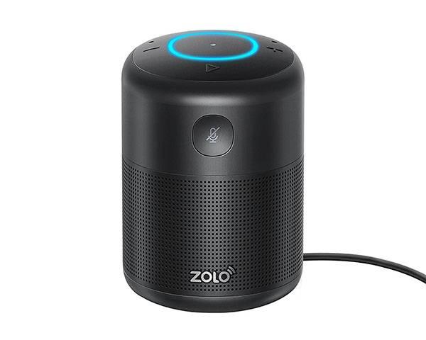 Zolo Halo Bluetooth and WiFi Smart Speaker with Amazon Alexa