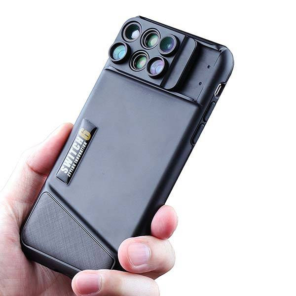 Ztylus Switch 6 iPhone X Case with 6-In-1 Lens Kit