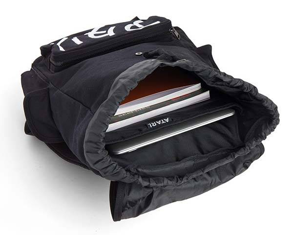 Black Katakana Atari Backpack