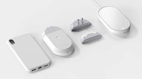 Cling Modular Power Bank with Qi Wireless Charging
