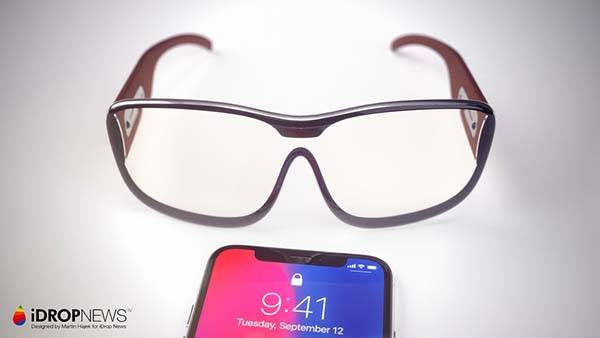 Concept Apple Glasses with AR Laser Projection System