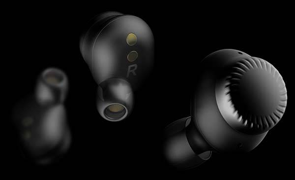 Concept True Wireless Earbuds with Two Dials