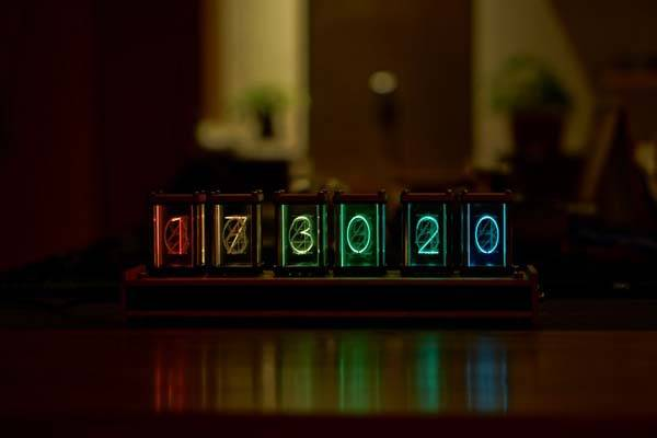 EleksTube Full Color Glow Tube Clock