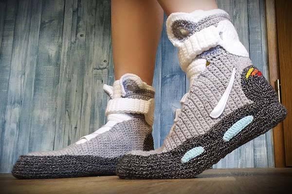Marty Mcfly Shoes Vs Nike Cholo Shoes