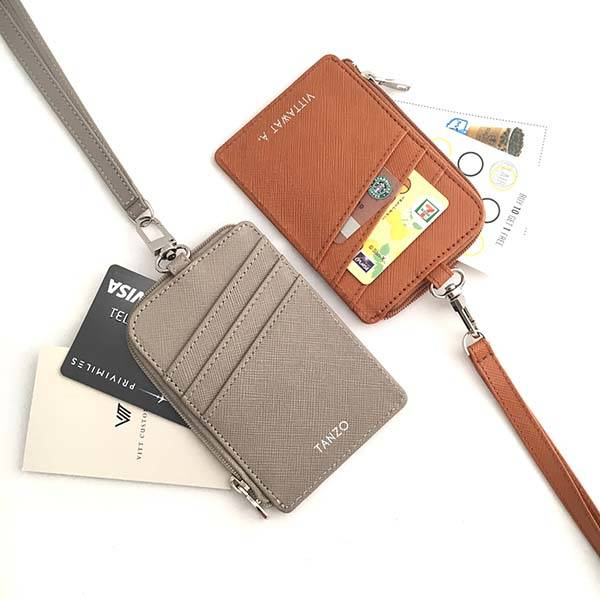 Handmade Personalized ID Card Holder