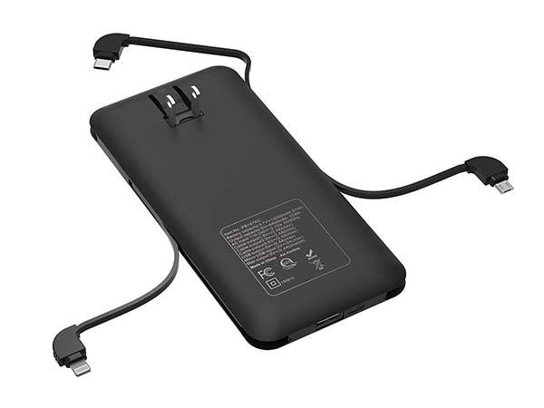 Heloideo All-In-One Power Bank with AC Plug