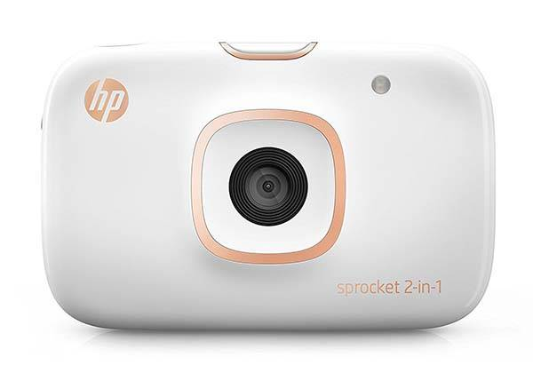 HP Sprocket 2-In-1 Instant Camera with Portable Photo Printer