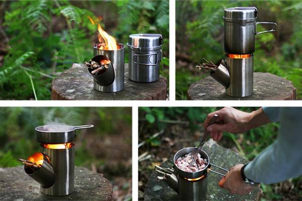 Kombuis Compact Outdoor Cooking Set