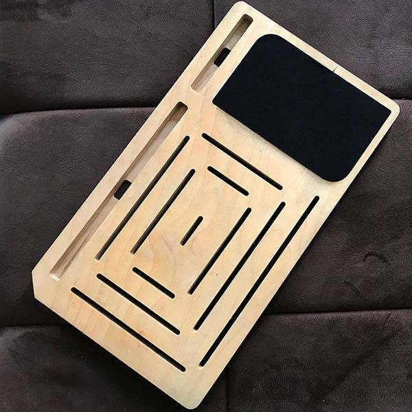 LapPad GO Handmade Portable Lap Desk