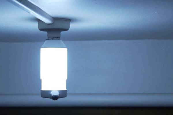 LightCam Smart Lightbulb with Built-in Security Camera