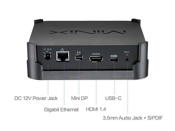 Minix NEO B42C-4 Customizable Mini PC