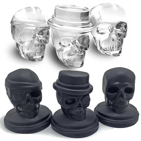 Pirate Skull Ice Cube Molds