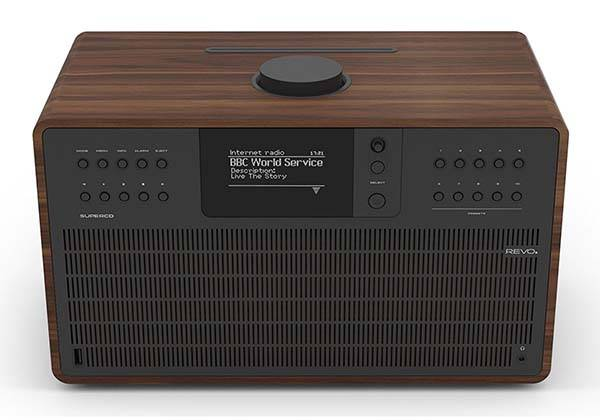 Revo SuperCD Wireless Speaker System with Internet Radio and CD Player