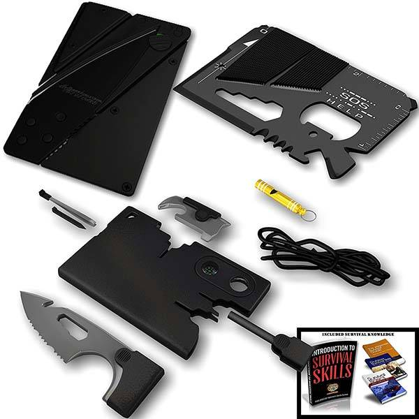Survival Credit Card Multi Tool Set