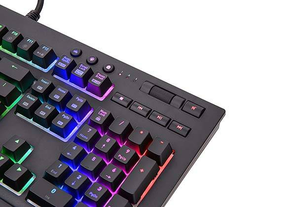 Thermaltake Tt Premium X1 App Enabled RGB Mechanical Gaming Keyboard