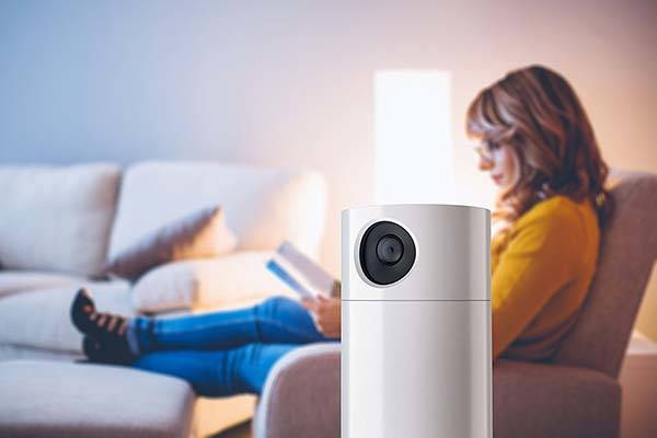 Toshiba Symbio Smart Security Camera with Alexa Speaker