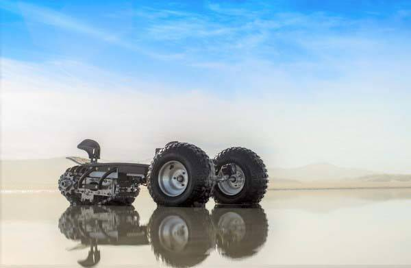 TRACK1 Off-road Electric Board with All-terrain Track