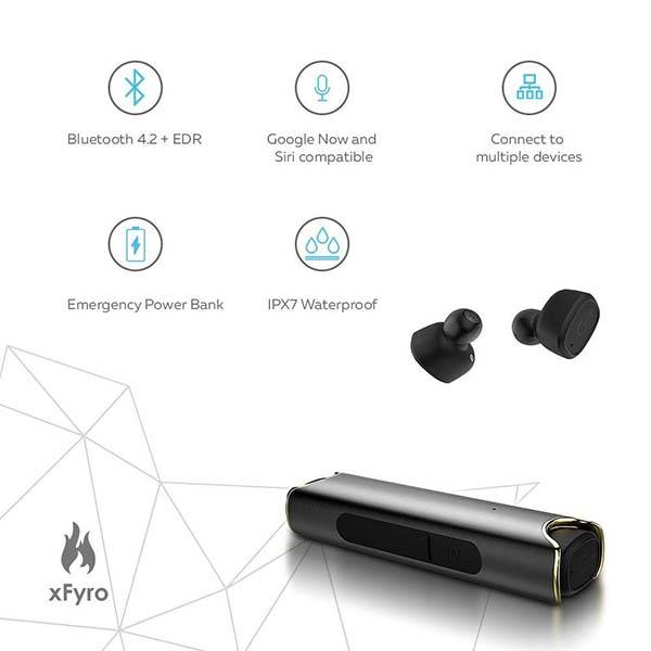 xFyro xS2 Waterproof True Wireless Earbuds