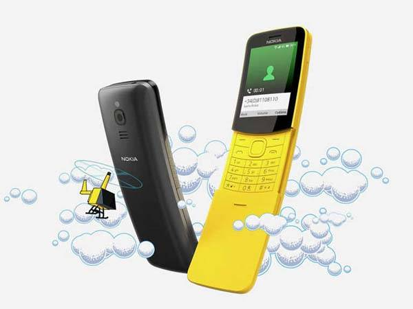 Nokia 8110 4G Feature Phone