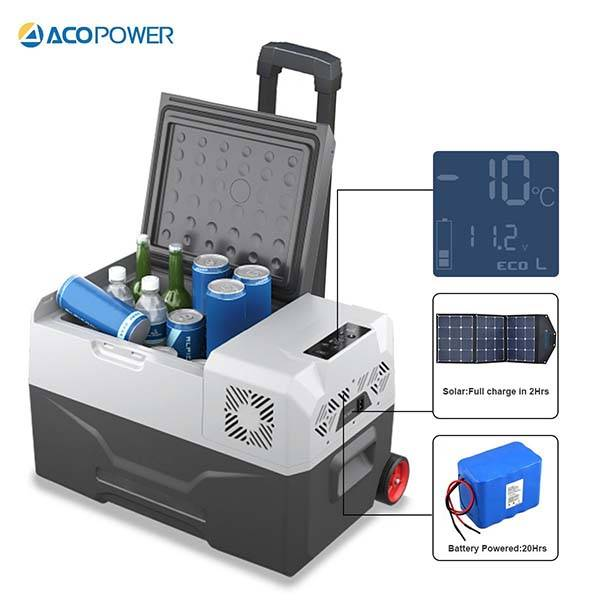 Acopower Outdoor Solar Cooler And Freezer Gadgetsin