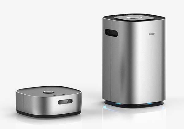 Airbot Smart Air Purifier with Detachable Robot Vacuum Cleaner