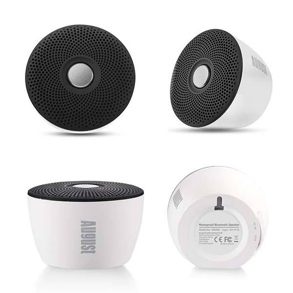August MS430 Portable Bluetooth Waterproof Speaker