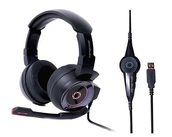 AVerMedia SonicWave USB 7.1 Gaming Headset