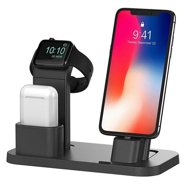 Beacoo All-In-One Charging Station for iPhone, Apple Watch and AirPods
