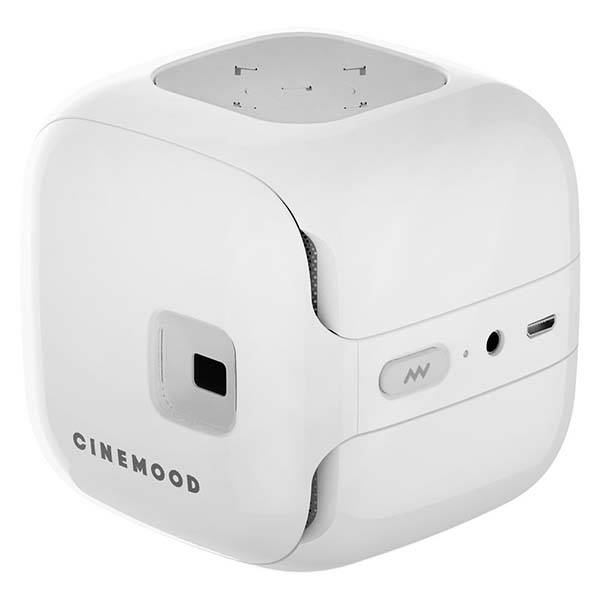 Cinemood Pocket Projector with Over 120-Hour Videos and Stories