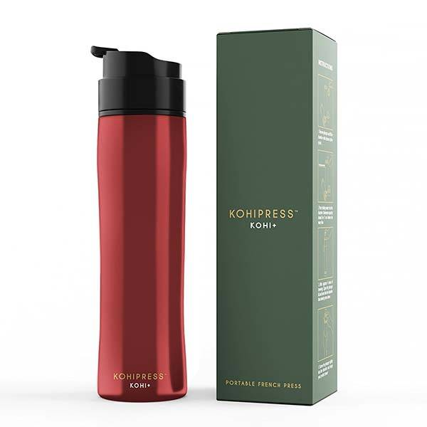 Kohipress Portable French Press Coffee Maker and Travel Mug