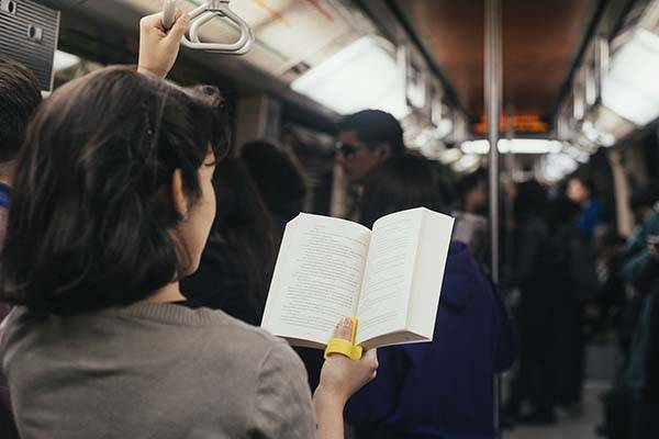Lector Reading Tool Helps You Comfortably Read in Public Transport