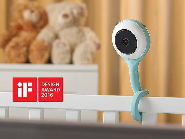 Lollipop Smart Baby Monitor with True Crying Detection