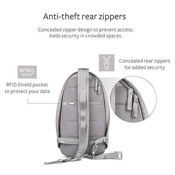 Moshi Tego Anti-Thief Crossbody Sling Bag