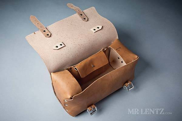MrLentz Mens Leather Work Bag