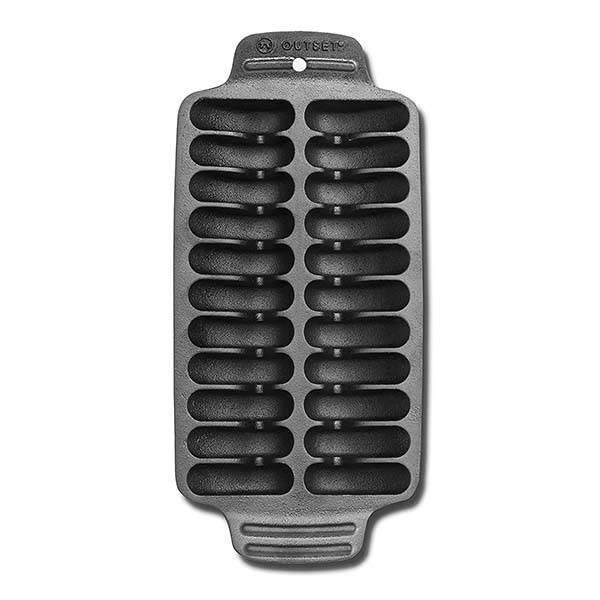 Outset Shrimp Cast Iron Grill and Serving Pan