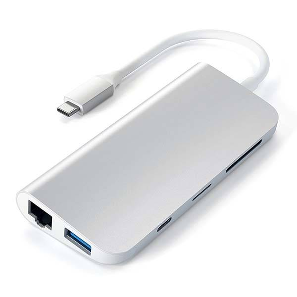 Satechi Aluminum USB-C Multimedia Adapter