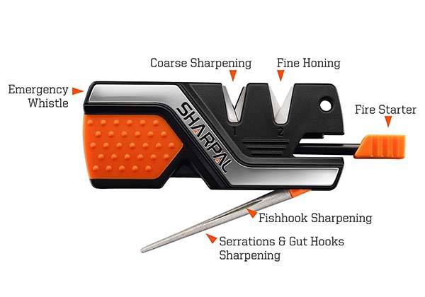 Sharpal 101N 6-In-1 Knife Sharpener