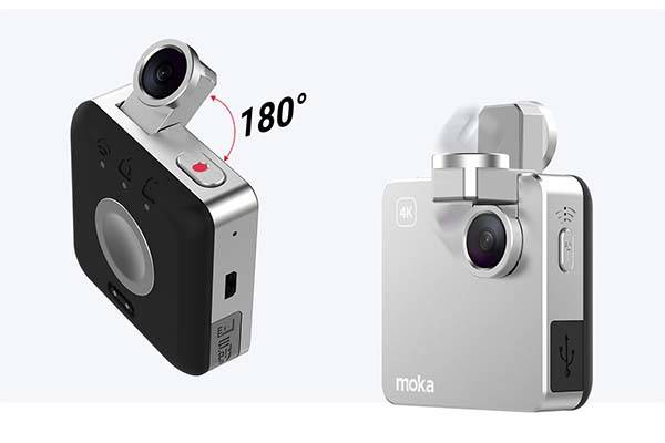 Snap Mini Wearable 4K Action Camera