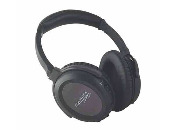 Solitude WX1 Dual Driver Bluetooth Noice Cancelling Headphones