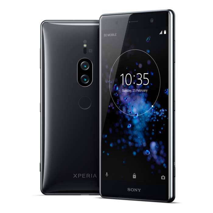 Sony Xperia XZ2 Premium with 4K Display