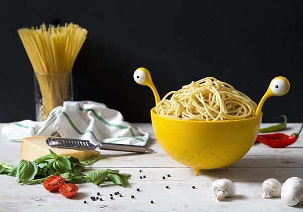 Spaghetti Monster Colander Strainer