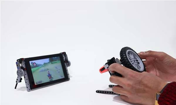 The Nintendo Switch Accessories Built with LEGO Bricks