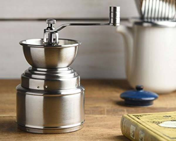 Popolo Stainless Steel Hand Coffee Grinder