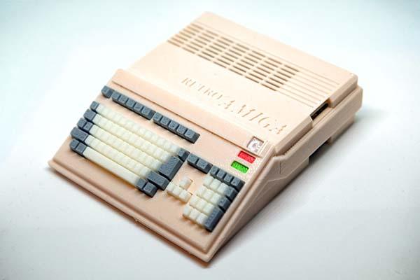 3D Printed Commodore Amiga 500 Raspberry Pi Case