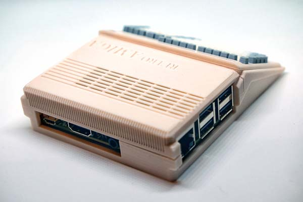 3D Printed Commodore Amiga 500 Raspberry Pi Case | Gadgetsin
