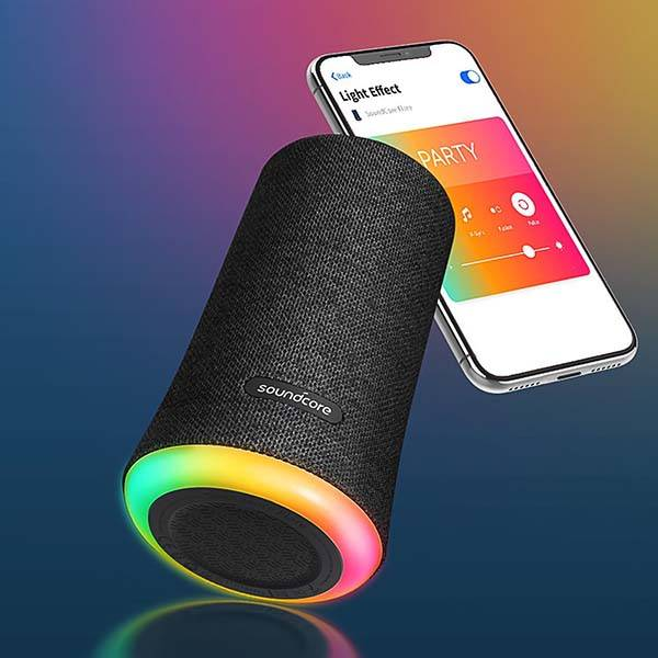 Anker Soundcore Flare 360-Degree Portable Bluetooth Speaker