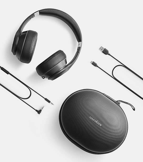 Anker Soundcore Vortex Bluetooth Over-Ear Headphones